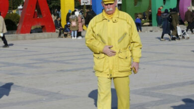 Photo of Syria: Aleppo's mysterious 'Yellow man'