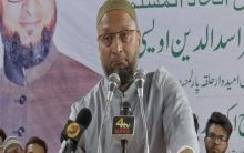 Asaduddin Owaisi appeal to pray for Akbar's Health in Eid Milap program at Darussalam