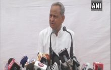 RSS should do politics on front foot: Ashok Gehlot