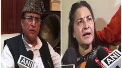 Photo of FIR registered against Azam Khan for derogatory remarks against Jaya Prada