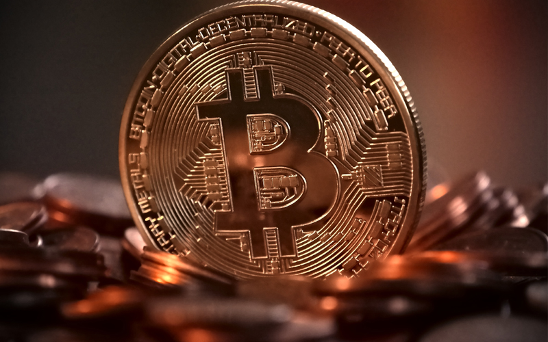 Bitcoins-Cryptocurrency-
