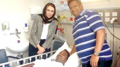 Photo of NZ PM Jacinda Ardern meets Hyderabadi youth in Hospital