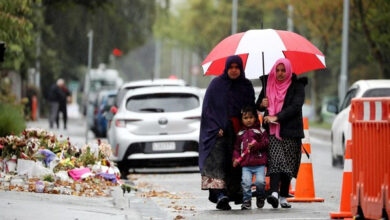 Photo of 'Scared' Muslims avoid Christchurch mosques a month after attacks