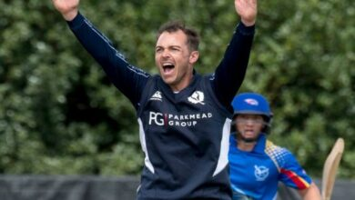 Photo of Scotland all-rounder Con de Lange dies at 38