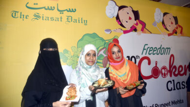Photo of Siasat conducts cookery classes