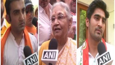 Photo of Delhi: Sheila Dikshit, Gambhir, Vijender file nominations