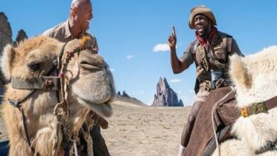 Photo of The Rock, Kevin Hart savour time on sets of 'Jumanji'