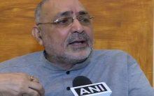 BJP workers, supporters want Giriraj as next Bihar CM