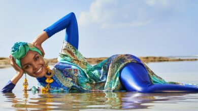 Photo of In first, Sports Illustrated will feature burkini-clad model