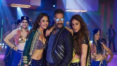 Photo of 'De De Pyaar De' song 'Hauli Hauli' features Ajay, Rakul, Tabu in party mood