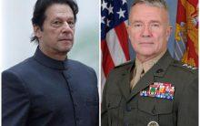 US CENTCOM Commander calls on PM Imran Khan