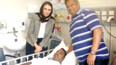 Photo of Christchurch attack: NZ PM Jacinda meets Hyderabad-native Ahmed