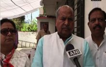 Lady who wore skirts now wears saris: BJP leader Jayakaran Gupta