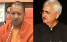 "Former Union Minister Salman Khurshid terms himself ""baap"" of Yogi Adityanath"