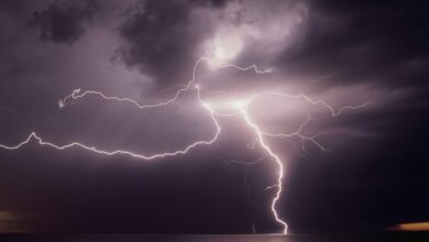 Photo of Eight people die as lightning strikes in Jharkhand