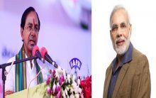KCR seeks apology from Modi