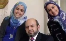 Father who lost two daughters in 'hate crime' defends 'Islam'
