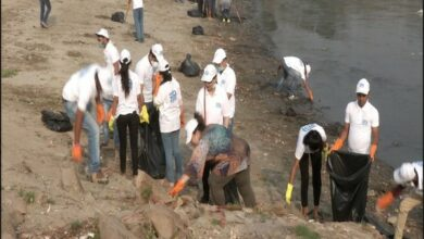 Photo of To celebrate World Health Day, NMCG organises cleaning of Yamuna Ghat in Delhi