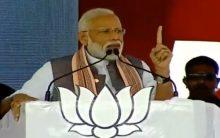 Congress is arrogant, says Modi