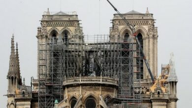Photo of French police warn of lead contamination after Notre Dame blaze