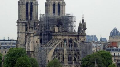 Photo of French Prez wants Notre Dame rebuilt in 5 years