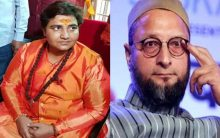 Asaduddin Owaisi reacts after BJP fields Sadhvi Pragya from Bhopal LS constituency