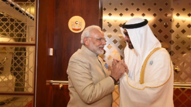 Photo of Abu Dhabi Crown Prince congratulate Modi on election win