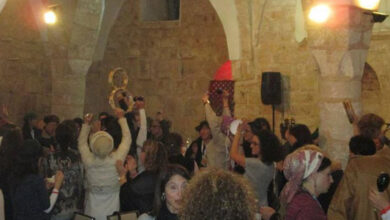Photo of 13th century Palestinian mosque converted into 'bar and event halls'