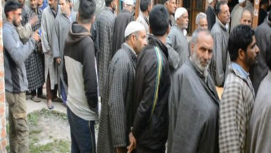 Photo of Polling continues under heavy security in J-K's Anantnag