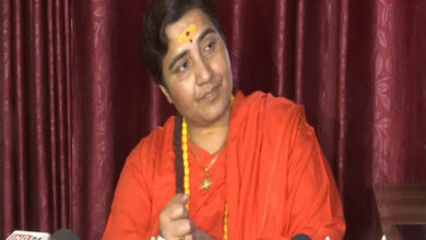 Photo of Karkare died because of my curse, says Sadhvi Pragya