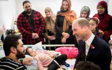 'Do YOU have a daughter?': Youngest Christchurch survivor ask Prince William