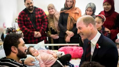 Photo of 'Do YOU have a daughter?': Youngest Christchurch survivor ask Prince William