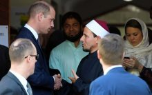 'You showed how to respond to hate – with love': Prince William tells NZ mosque survivors
