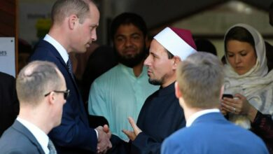 Photo of 'You showed how to respond to hate – with love': Prince William tells NZ mosque survivors