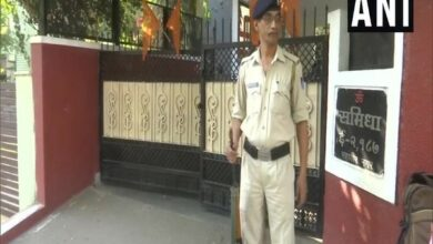 Photo of Security restored at RSS office in Bhopal