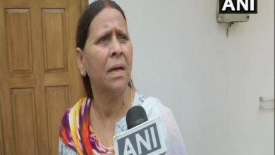 Photo of Lalu Yadav's life in danger, claims wife Rabri Devi