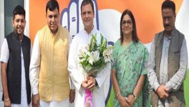 Photo of Former BJP MP Suresh Chandel joins Congress