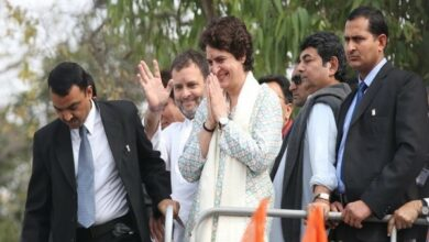 Photo of Rahul, Priyanka's rallies in western UP cancelled due to bad weather