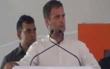 Modi giving away public money to industrialists: Rahul