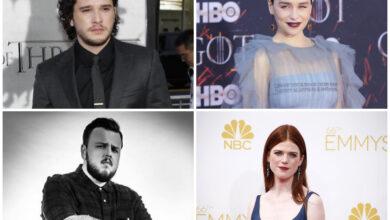 Photo of 'GOT' stars Emilia Clarke, John Bradley and wife Rose Leslie join Kit Harington on 'SNL'