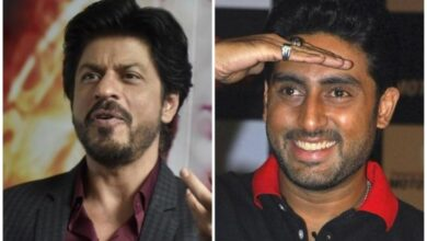 Photo of SRK's fun reply to Jr Bachchan's tweet leaves fans amused