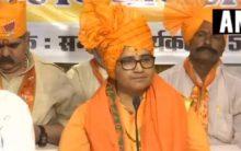 Pragya apologises for Gandhi-Godse remarks, adopts 'maun vrat'