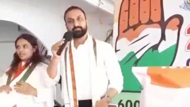 Photo of Feroz khan addressing to Congress Mahila in Old city