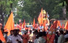 Hyderabad: Hanuman Jayanthi Celebrated on a Grand Scale