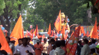 Photo of Hanuman Jayanti Procession in Hyderabad