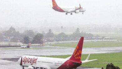 Photo of Mumbai-bound SpiceJet aircraft overshot runway, passengers safe