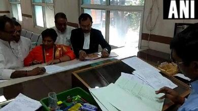 Photo of Pragya Singh Thakur files nomination from Bhopal Lok Sabha constituency
