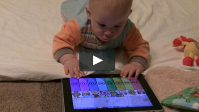 Photo of Toddler disables dad's iPad for nearly half century