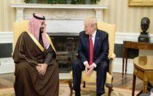 Trump, Saudi Crown Prince discuss Iran, human rights