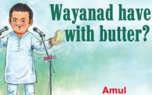 """Amethi Ka Paratha"": Amul's latest comic features Rahul Gandhi"